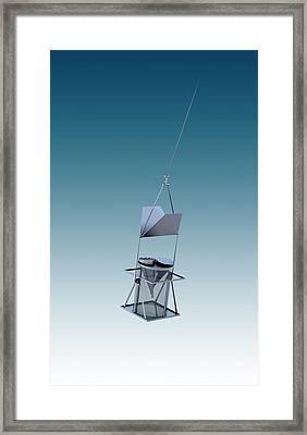Arcade Radiometer Framed Print by Mikkel Juul Jensen