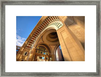 Arch Framed Print by Lee Costa