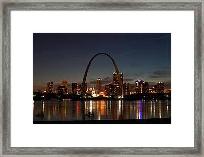 Arch Work Framed Print by Joe Scott