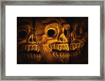 Archaeology Framed Print by Jeff  Gettis