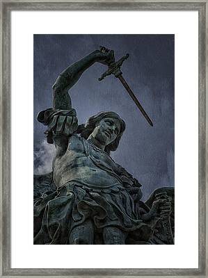 Archangel Michael Framed Print by Erik Brede