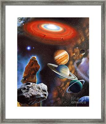 Archeozoic Period Framed Print by Publiphoto