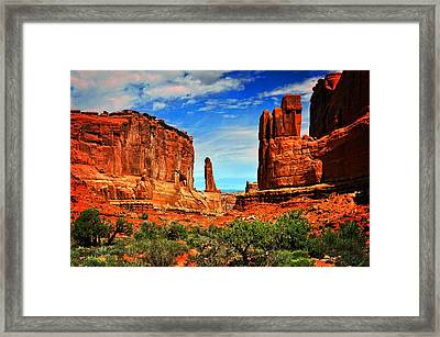 Arches 15 Framed Print by Marty Koch