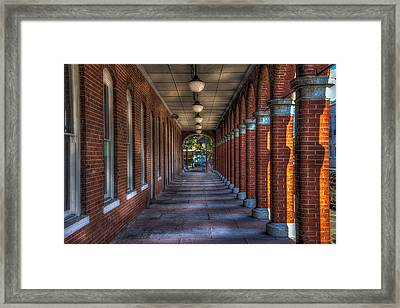 Arches And Columns Framed Print by Marvin Spates