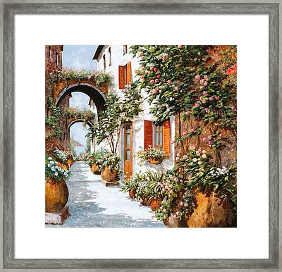 Archi E Orci Framed Print by Guido Borelli