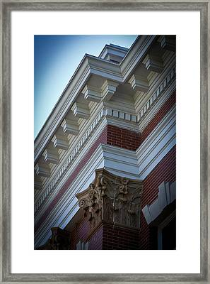 Architechture Morgan County Court House Framed Print by Reid Callaway