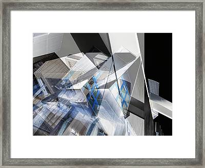 Architectural Abstract Framed Print by Wayne Sherriff