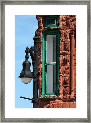 Architectural Detail 11 Framed Print by Mary Bedy