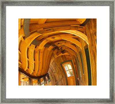 Architecture By Seuss Framed Print by Omaste Witkowski