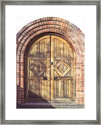 Archway Framed Print by Tom Gowanlock