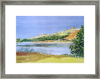 Arcos Lakeside Framed Print by Ted Reynolds