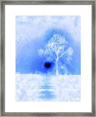 Arctic Blast Framed Print by Dan Sproul