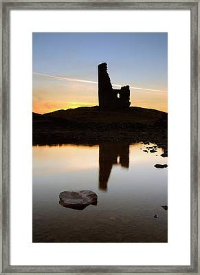 Ardvreck Castle Sunset Framed Print by Grant Glendinning