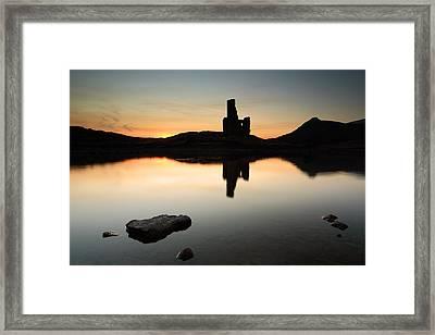 Ardvreck Sunset Framed Print by Grant Glendinning