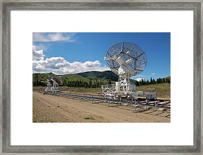 Are You Receiving Me Major Tom Framed Print by Trever Miller