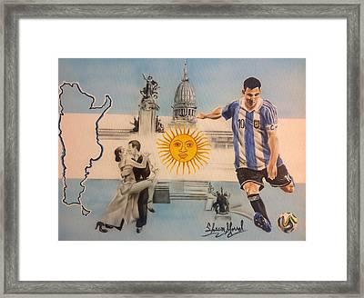 Argentina Framed Print by Shawn Morrel