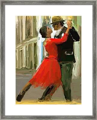 Argentina Tango Framed Print by James Shepherd