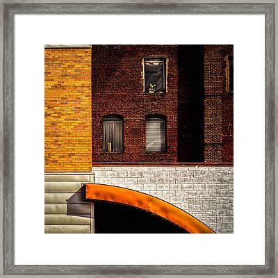 Argo Building Framed Print by Bob Orsillo