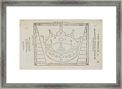 Ariadne Star Constellation Framed Print by British Library