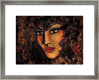 Ariana Framed Print by Natalie Holland