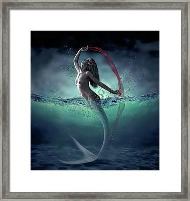 Ariel Framed Print by Dmitry Laudin
