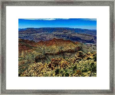 Arizona - Grand Canyon 002 Framed Print by Lance Vaughn