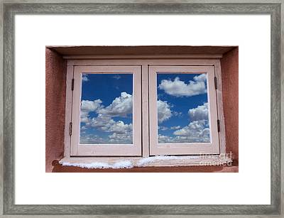 Arizona Land Of Contrasts 3 Framed Print by Bob Christopher