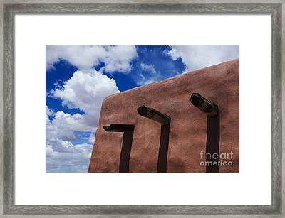 Arizona Land Of Contrasts Framed Print by Bob Christopher