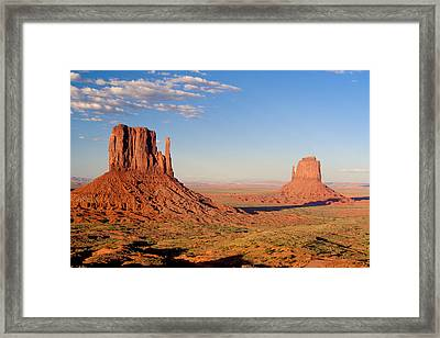 Arizona Monument Valley Framed Print by Anonymous