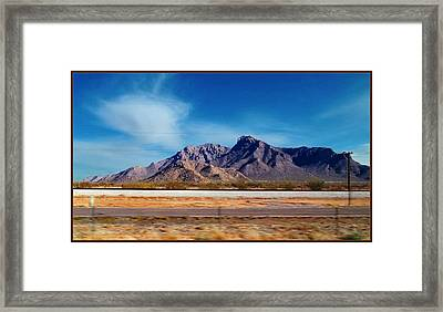 Arizona - On The Fly Framed Print by Glenn McCarthy Art and Photography
