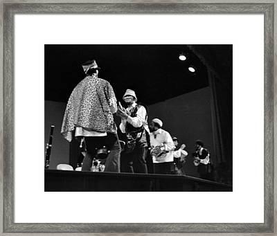 Arkestra Procession 1968 Framed Print by Lee  Santa