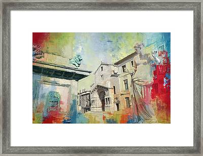 Arles Roman And Romanesque Monuments Framed Print by Catf