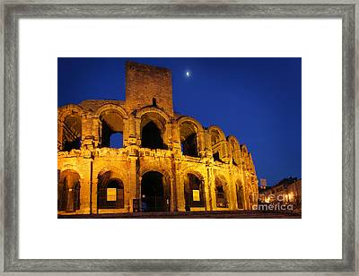 Arles Roman Arena Framed Print by Inge Johnsson