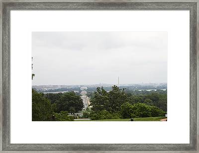 Arlington National Cemetery - 01136 Framed Print by DC Photographer