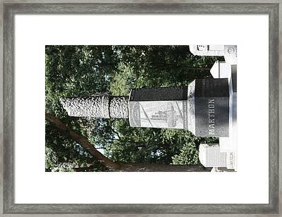 Arlington National Cemetery - 121217 Framed Print by DC Photographer