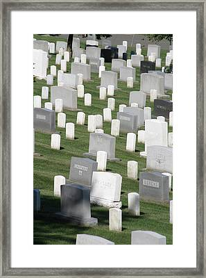Arlington National Cemetery - 12122 Framed Print by DC Photographer