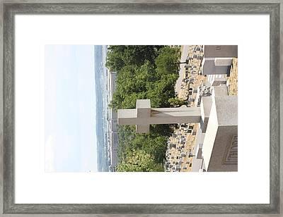 Arlington National Cemetery - 121226 Framed Print by DC Photographer