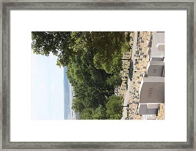 Arlington National Cemetery - 121227 Framed Print by DC Photographer