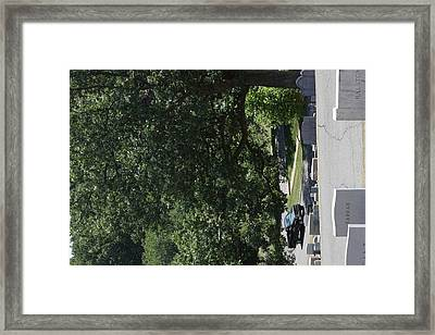 Arlington National Cemetery - 121232 Framed Print by DC Photographer