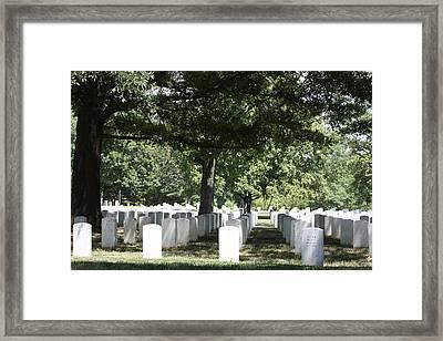 Arlington National Cemetery - 121246 Framed Print by DC Photographer
