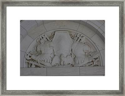 Arlington National Cemetery - Structures On Grounds - 12122 Framed Print by DC Photographer