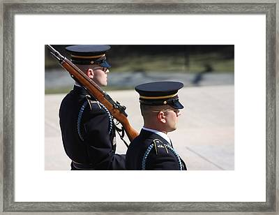 Arlington National Cemetery - Tomb Of The Unknown Soldier - 121220 Framed Print by DC Photographer