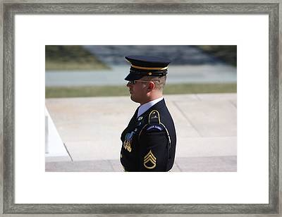 Arlington National Cemetery - Tomb Of The Unknown Soldier - 121224 Framed Print by DC Photographer
