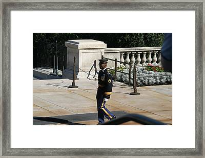 Arlington National Cemetery - Tomb Of The Unknown Soldier - 12125 Framed Print by DC Photographer