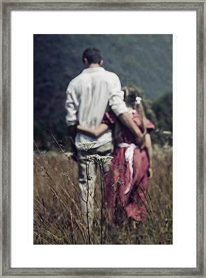 Arm In Arm Framed Print by Joana Kruse