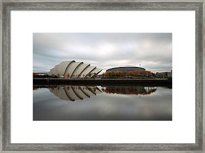 Armadillo And The Hydro In Autumn Framed Print by Maria Gaellman