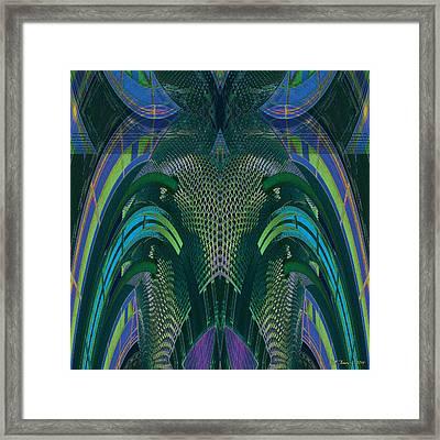 Armadillus Rex Framed Print by Bill Jonas