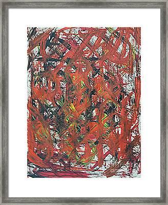 Armageddon 1 Framed Print by Richard W Linford