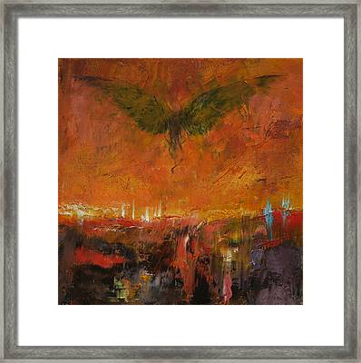 Armageddon Framed Print by Michael Creese