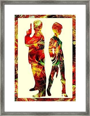 Armed Framed Print by Anastasiya Malakhova